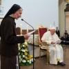 Albanian nun tells Pope about faith amid Communist regime