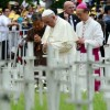 Pope Francis prays at Korean cemetery for aborted babies